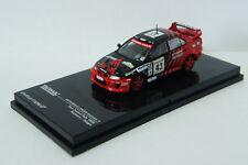 Tarmac works Mitsubishi Lancer Evolution V NEW Zealand Rally 1999 #43 ~ 1/64