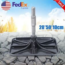 Manganese Steel Tamper Rammer Compactor Rammer Plate Black For Paving Stones New