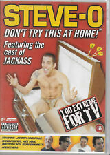 Steve-O Don't Try This At Home DVD