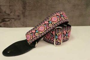 Souldier Hendrix Pink Guitar Strap *Free Shipping in the USA*