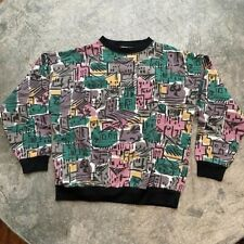 Vintage Cabaret City Colorblock Crewneck Sweatshirt Small