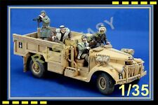 RARE New World Miniatures 1/35 L.R.D.G. Crew (4 figures) NWM35038