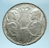 1963 GREECE w PAUL GEORGE I &II ALEXANDER CONSTANTINE Antique Silver Coin i77933