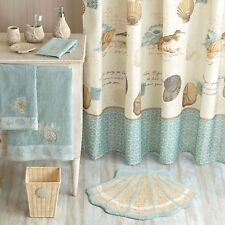 Better Homes and Gardens Coastal Collage Fabric Shower Curtain New Polyester