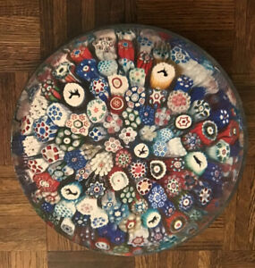 Vintage Springbok BACCARAT MILLEFIORI PAPERWEIGHT Circular Puzzle