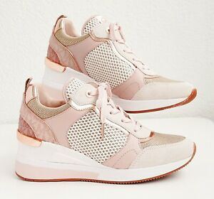 Michael Kors Schuhe Sneaker Crista Trainer  Net Mesh Rosegold Gr.37 Neu