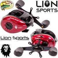 LION Speed Baitcast LH Rolle - Baitcaster Angelrolle / Baitcastrolle Spinrolle
