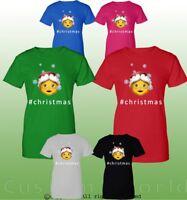 Funny Christmas Shirts Santa's Gift Graphic Ugly Xmas Design Women T-Shirt