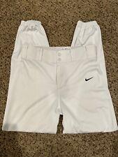 Nike Dri Fit Baseball Pants Youth Boys White Size Xl Euc!