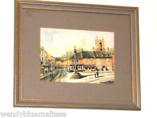 Cotswold Fruit Shop by Barbara Butcher Prof. Framed Print 31x26cm Ready to Hang