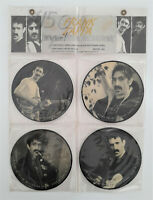 "FRANK ZAPPA 7"" Interview Picture Disc Collection 45 rpm Bakpak 1003 UK"