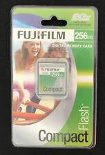 Fujifilm Digital Memory Card Compact Flash CF 256mb Vintage NEW