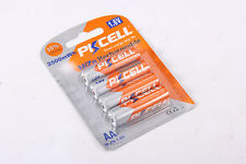 Pack of 4 AA 2500mWh 1.6V 2A NiZn Rechargeable Camera Battery PKCELL