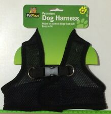 Dog Harness for Small Dog - Size M, Black Colour
