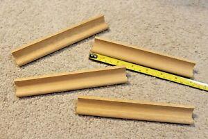 "Lot of 2 --- Original Scrabble Game Wood Tile Holder Replacement Racks 7"" long"