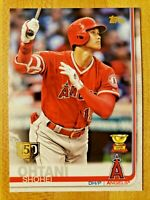 2019 Topps Series 1 SP 150 Years Stamp Shohei Ohtani #250 Rookie Gold Cup Angels