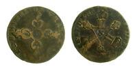 s57_11) France  LOUIS XIV - 6 DENIERS DIT DARDENNES - 1710 ?