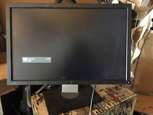 "Dell U2410F 24"" Monitor with stand and power cord VGA Cable"