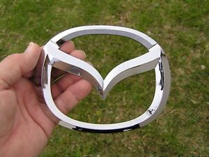 MAZDA 3 - 6 LOGO 125mm with Tape Badge Emblem OTHER SIZES AVAIL *FACTORY 2nd*