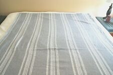 Target Navy and White Striped Twin Blanket Cover