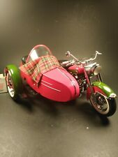 Franklin Mint Harley Davidson 2002 Christmas Motorcycle LE scale 1:10 IOB