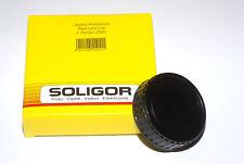 Soligor japón m42 objetivamente rückdeckel/tapón de rosca/Rear lens cap (nuevo/en el embalaje original)