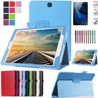 Leather Tablet Stand Flip Cover Case For Samsung Galaxy Tab A 10.1 SM-T580 T585