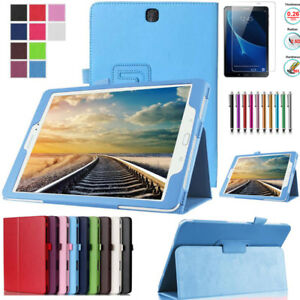 Leather Stand Flip Cover Tablet Case For Samsung Galaxy Tab A 10.1 SM-T580 T585
