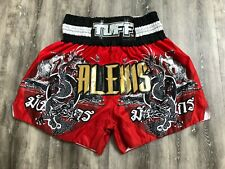 TUFF Sport Muy Thai Retro UFC MMA Training Workout Warm-Up Alexis Shorts L