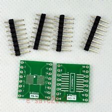 5pcs New SO/SOP/SOIC/SSOP/TSSOP/MSOP16 to DIP Adapter PCB Board Converter E04