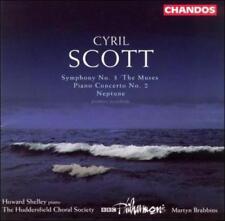"CYRIL SCOTT: SYMPHONY NO. 3 ""THE MUSES""; PIANO CONCERTO NO. 2; NEPTUNE NEW CD"