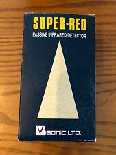 Visonic Ltd SRN-2000C-A Super Red Passive Infrared Motion Detector Lens No. 100