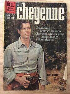 Cheyenne Comic Book Dell Comics Western Adventure No. 16 1960 Clint Walker