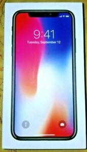 Apple iPhone X, 256GB, Space Gray, Unlocked, A1865, MQA82LL/A, CDMA & GSM, BNIB