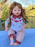 """RETIRED Cathay Collection Vinyl Play 19"""" Long Hair RARE Doll Only 5000 Made ❤️m9"""