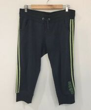 Super Comfy Adidas Womens Cropped Track Pants Grey Super Comfy Size 14 [WS1]