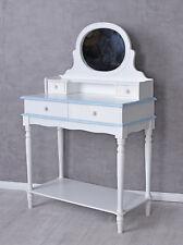Mesa consola mesa de maquillaje vestidor mesa para cosméticos espejos 4 cajones