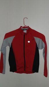 Pearl Izumi Cycling Jacket Mens Medium Jacket Red