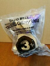 TACO BELL TALKING CHIHUAHUA 2000 HAPPY NEW YEAR AMIGOS PLUSH DOG NEW IN BAG