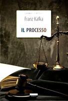 Il processo Franz Kafka Crescere Edizioni LIBRO Nuovo Versione Integrale