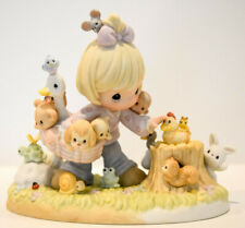 Precious Moments Collecting Friends Along The Way Pm002 20 Years Club Figure