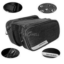 Roswheel 1.5L Bicycle Bag Cycling Top Frame Front Tube Pannier Saddle Bag Pouch