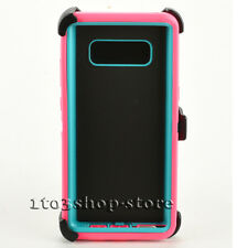 Samsung Galaxy Note 8 / Note VIII Hard Case (Belt Clip Fits Otterbox Defender)