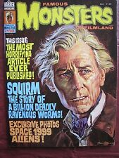 Famous Monsters # 130 Squirm, Space 1999 & Aliens