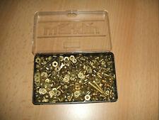 Märklin Metallbaukasten 170 Schrauben 14202/5x14204  mit  175  Muttern
