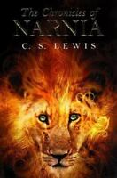 The Chronicles of Narnia by C S Lewis *classic* paperback book FREE SHIPPING cd