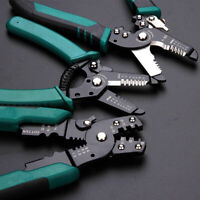 Cable Wire Stripping Pliers Crimping Tool Pliers Wire Stripper Decrustation  Rep