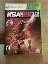 NBA 2K12 (Microsoft Xbox 360, 2011) FREE SHIPPING