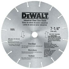 "Dewalt DW3330 7-1/4"" Iron & Steel Cutting Circular Saw Blade"