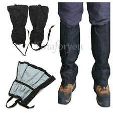 1 Pair Waterproof Outdoor Hiking Walking Climbing Hunting Snow Legging